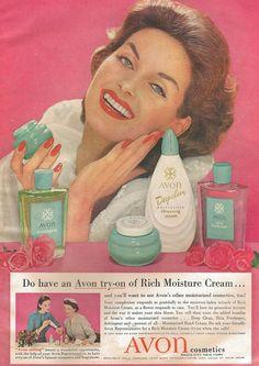 vintage avon ads | Visit crazysuburbanmom.com