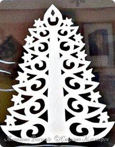 Так мы оформили в нашей группе окошечки к Новому году:) Первое окно. фото 13