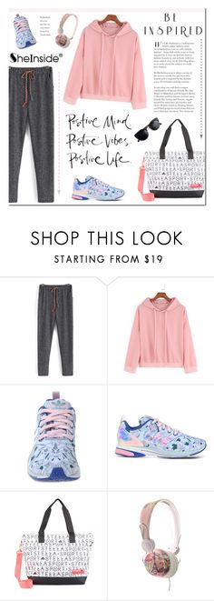"""SheIn"" by aurora-australis ❤ liked on Polyvore featuring mode, adidas, StellaSport en Sheinside"