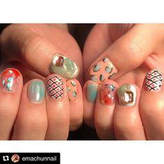 #Repost @emachunnail (@get_repost) ・・・ ピンクぽくお任せで💞♡♡ 高校のときからネイルのこと言っててくれててやっとできて嬉しい😍とっても可愛いかったー!あーちゃんありがとう💞💞❣️ #nail #nails #gelnail #selfnail #selfgelnail #nailart #naildesign #ema_nail #ネイル #ジェルネイル #セルフネイル #セルフジェルネイル #ネイルアート #ネイルデザイン @emachunnail  @__jasmine_tea @aaaya_sr