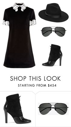 """Sign of the times...."" by skajackson ❤ liked on Polyvore featuring macgraw, 3.1 Phillip Lim, Yves Saint Laurent and Lack of Color"