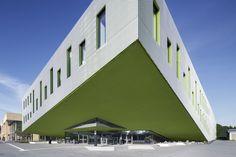 Bau der Woche: Hörsaalgebäude Fachhochschule Osnabrück - Benthem Crouwel GmbH
