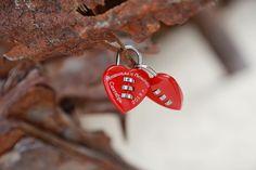 Popular wedding padlocks