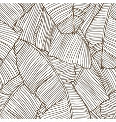 Palm leaves pattern vector 949286 - by incomible on VectorStock®