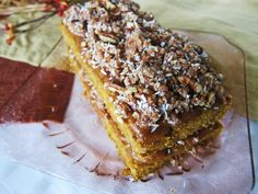 Raw Pumpkin Apple Streusel Coffee Cake   Fragrant Vanilla Cake