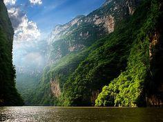 travelocean271: Sumidero Canyon Chiapas, Mexico