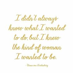 """I didn't always know what I wanted to do but I knew the kind of woman I wanted to be."" Starting a blog or any creative business is a series of daily decisions about what direction you want to move in who your audience should be what your value is and what your long-term goals are. And it changes constantly! One day you have the next ten years planned out for your business and the next you lose faith in everything you've planned and feel like starting over...or even quitting. But even when…"