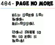 15 Funny and Creative Error 404 Pages (error 404 pages) - ODDEE