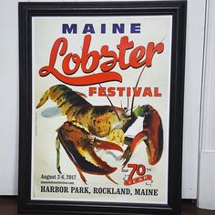 I am totally in love with this year's Maine Lobster Festival poster! Have you ever been to the Lobster Festival in Rockland? Book with us and go next year! Walk to the festival. #Maine#mainecoast #Rockland #rocklandmaine #newengland #festivals #lobsters #mainelobsterfestival #art #coastallife #coastal #kids #kidfriendly #familyfriendly #lobster #vacationrental #Regram via @sadlerhousemaine