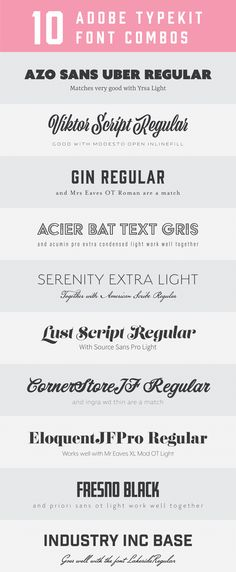 5 BEST FONT PAIRS FOR SQUARESPACE design Pinterest Fonts