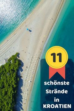 Die 11 schönsten Strände in Kroatien - der ultimative Beach Guide The most beautiful beaches in Croatia - the ultimate beach guide for your Croatia vacation. Top list of the best beaches: Bijeca, Grad Beach Vacation Outfits, Beach Trip, Vacation Trips, Beach Travel, Beaches In The World, Most Beautiful Beaches, Nightlife Travel, Culture Travel, Holidays And Events