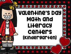 Valentines Literacy and Math Centers (Kindergarten) (scheduled via http://www.tailwindapp.com?utm_source=pinterest&utm_medium=twpin&utm_content=post134586161&utm_campaign=scheduler_attribution)