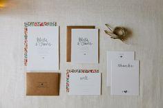 ROBERTA Wedding Invitation Suite Letterpress