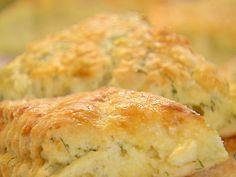 Cheddar - Dill Scones.    http://www.foodnetwork.com/recipes/cheddar-dill-scones-recipe/index.html