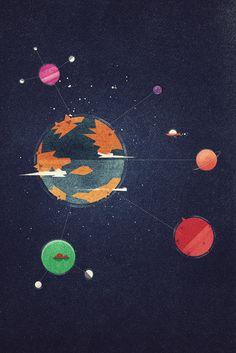 Dan Matutina Creates Edgy Google Planets World for Google Plus Course