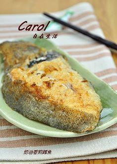 Carol 自在生活 : 奶油香煎鱈魚