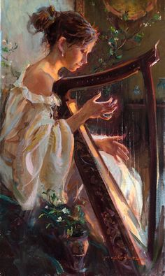Breathless listening to this harpist at Goblin's Gourd...check it out...