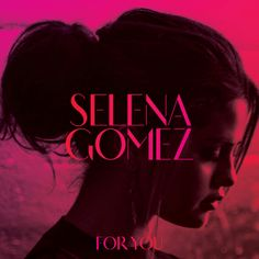 Check out the gorgeous cover art for Selena Gomez's album For You! (It's amazing Album Selena Gomez, Selena Selena, Songs By Selena Gomez, Selena Gomez Poster, Music Album Covers, Music Albums, Pop Albums, Album Lana Del Rey, Album Covers
