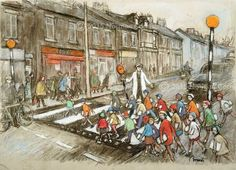 Inspiring Pictures for Writers: Norman Cornish – the miner's artist