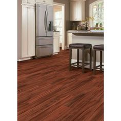 Home Legend Hand Scraped Teak Amber Acacia 3/4 in. T x 4-3/4 in. W x Random Length Solid Hardwood Flooring (18.70 sq. ft. / case)-HL157S - The Home Depot