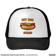 Vending Hot Dog Trucker Hat by Mini Brothers