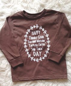A personal favorite from my Etsy shop https://www.etsy.com/listing/250019125/toddler-thanksgiving-shirt-baby-girl