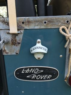 Land Rover now serving........