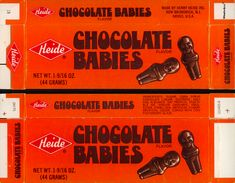 Vintage Candy Wrappers With Unfortunate Names and Labels