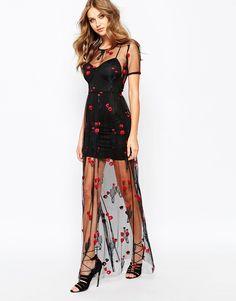 For Love and Lemons Desert Rose Maxi Dress