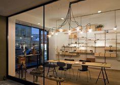 Innsbruck: Brillen für Individualisten- A-List Innsbruck, Wolf, Conference Room, Chandelier, Ceiling Lights, Interior Design, Lighting, Table, Shops