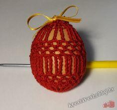 Horgolt tojástakaró 7. - Kreatív+Hobby Alkotóműhely Crochet Earrings, Projects To Try, Christmas Ornaments, Holiday Decor, Easter Stuff, Google, Amigurumi, Crocheting, Rabbits