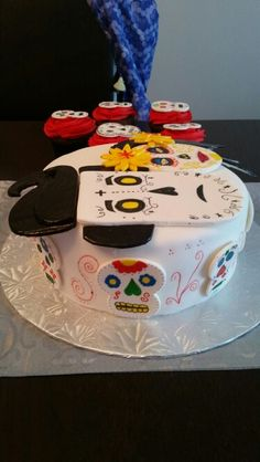 The Book of Life cake