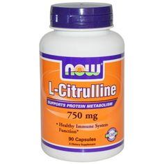 sports-fitness-athletic: Now Foods, L-Citrulline, 750 mg, 90 Capsules