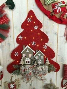 Kit ghirlanda rossa natale il kit e tutti i materiali for Ornamenti casa