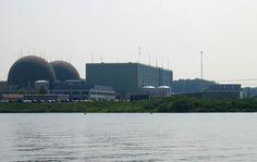 Panoramica dei reattori nucleari di Fukushima.