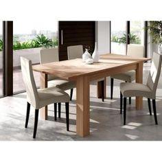 TABLE A MANGER SEULE FINLANDEK Table à Manger Extensible NUORI - Finlandek table a manger extensible nuori pour idees de deco de cuisine