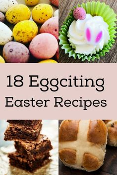 18+ Exciting Easter recipes 2021 - these 18 delicious eggciting Easter recipes this April. Easter 2021 - Easter food and the history behind Traditional Easter Food. Easter Deserts, Easter Food, Easter Crafts, Easter Cupcakes, Easter Cookies, Yummy Easter Recipes, Best Roast Lamb, Slow Cooker Fudge, Egg And Spoon Race