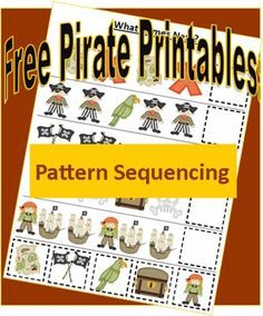 Pirate Printables: Pattern Sequencing