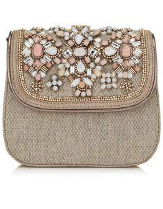 Nolita Tweed Across Body Bag
