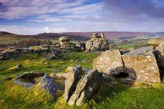 Times Walks: Hound Tor and Haytor Rocks, Dartmoor, Devon Parc National, National Parks, Dartmoor National Park, Devon England, Devon And Cornwall, Holiday Destinations, Aerial View, Amazing Nature, Beautiful Landscapes