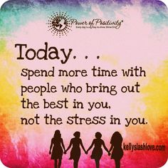 Who will you choose to spend time with?  #journey #growing #family #girltime