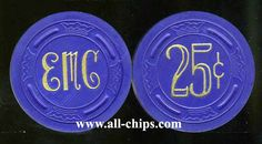 #LasVegasCasinoChip of the day is a 25c El Morocco 4th issue you can get here http://www.all-chips.com/ChipDetail.php?ChipID=15186 #CasinoChip #LasVegas