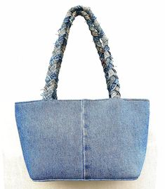 Amazon.com: BDJ Blue Denim Jean Studded Bow Tie Hobo Style Women Shoulder Handbag: Shoes