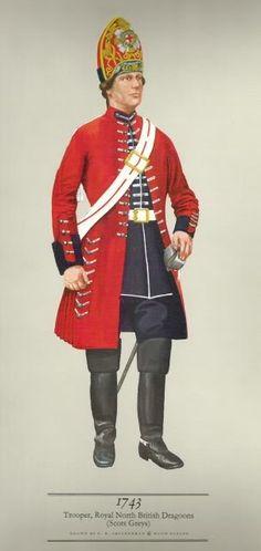 Royal North British Dragoons  (Scots Greys)