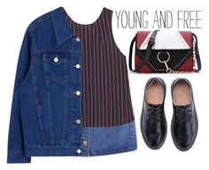 """""""Young and free!"""" by m-zineta ❤ liked on Polyvore featuring MANGO"""