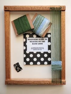 You could make these with your students and teach them to weave:)