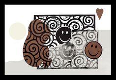 """andrea mattiello """"imprinting""""   stampa fotografica e collage su carta cotone cm 45,5x31 tiratura da 1/9 a 9/9; 2012"""
