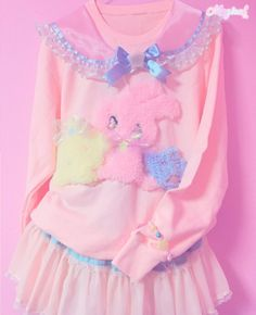 pastel pink cute girls clothes