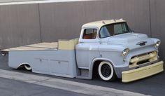 """""""ODIN"""" a Max Grundy Design 1955 Chevy 5400 LCF light duty hauler"""