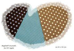 Bügelstoff -Punkte/Dots -Auswahl- DIY Applis  von ஐღKreawusel-aufgehübscht✂ஐ  auf DaWanda.com